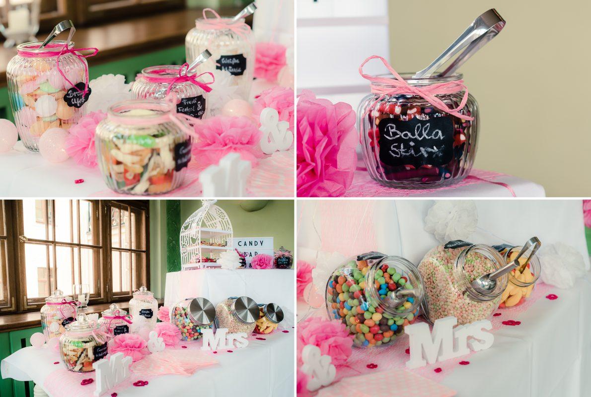 märchenhafte Candy Bar zur Märchenhafte Hochzeitsfeier