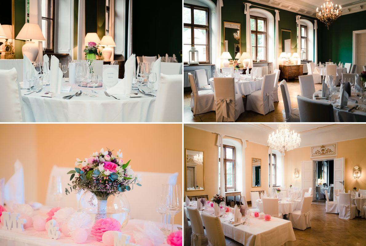 Märchenhafte Hochzeitsfeier auf Schloss Proschwitz